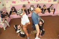 Massive birthday orgy for some Asian teens