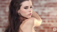 Whopping Aleksa Slusarchi strips and teases