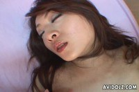 Sweet teen Oriental pussy toyed