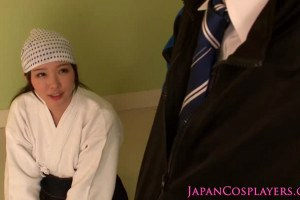 An authentic Japanese blowjob