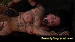 Fetish doll Alby Rydes fucked so hard by her master