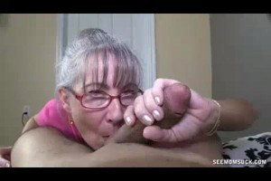 Jealous grannies sucking dick