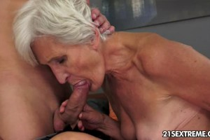 Naughty GILF taking advantage of you hard young cock