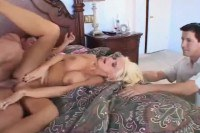 Sexy wife screwed in front of her hubby
