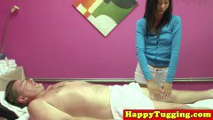 Petite asian handjob Dirty masseuse