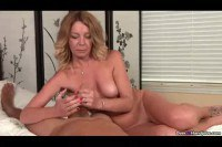 Hot MILF Gets Special Cock Snack