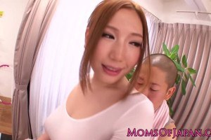 Bigass asian milf fucking hard in closeup