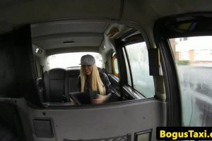 Curvy chick gets fucked by horny cab driver