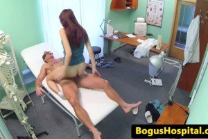 Hospital Spy Cam Caught Doctor and Patient Fucking