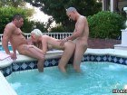 Awesome blonde fucked in the jacuzzi