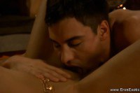 Man Perform Erotic Massage and Lick with his Wife