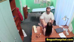 Doctor Fucks his Patient on his Table