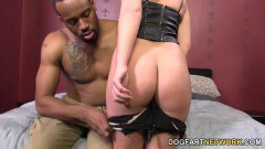 Krystal Carrington takes a black dong deep