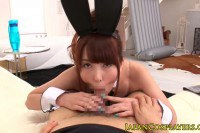 Japanese bunny girl nailed
