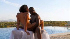 Black Hot Couple Making Love Outdoor - duration 11:59