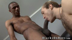 White Dude Takes On Black Cock Like A Pro
