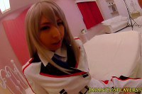 Japanese Teen Cosplayer Fucked and Creampied POV