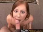 Hot Redhead Giving Amazing Head Point Of View