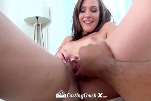 Sweet Molly Manson in porn casting video