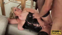 BBW Mature Sub Dominated Before Getting Fucked