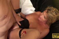 Horny mature slut fucked in the office