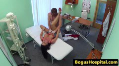 Busty patient fucked by the doctor