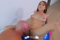 Sweet Adessa Winters licked and ridding