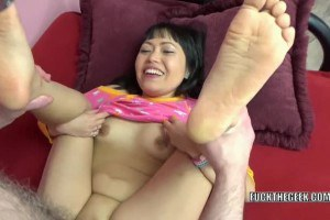 Slim tiny Yuka Ozaki gets a taste