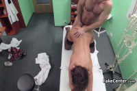 Amateur in stockings fucked by her gynecologist