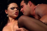 Classy brunette maid fucked by the horny boss