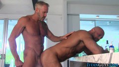 Two horny gay studs fucking