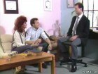 Classic Redhead Fucking With Corporate Bisexual