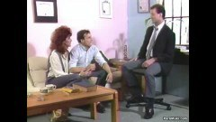 Classic Redhead Fucking With Corporate Bisexual - duration 05:50