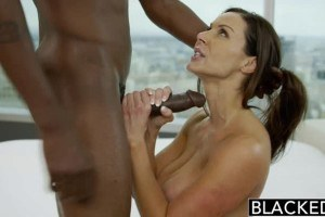 Blacked-Kendra Lust fucks her trainer