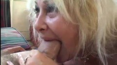 BBW and blonde granny sharing dicks in a group scene