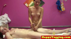 Oriental Masseuse Pleasing Her Customer
