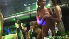 College teen hotties ass and pussy fingered in the club