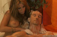 Lucky Dude Receives Amazing Massage From Her Hot Wife