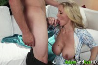 Titty MILF Gets Strong Dick In Her Juicy Cunt