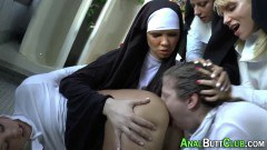 Lesbian nuns keep it dirty
