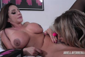 Ariella Ferra And Puma Swede Pleasing Each Other With Toys