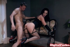 Glamorous Chick Gets Doggy Fucked At The Party