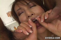 Asian Bitch Rammed By Two Japanese Dude