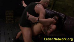 Some rough bonding in the fetish cave