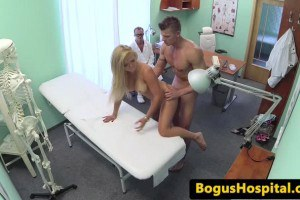 Couple Fucks In Front Of Horny Doctor