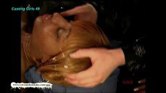 Horny Ebony babe knows how to do it rough - duration 12:04