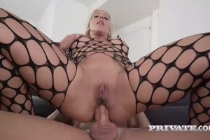 Huge titted pornstar riding that big cock wild