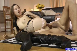 European Chick In Stockings Ass Fucked In HD