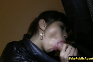 Sexy Russian amateur pulled and fucked by a stranger