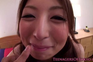 Cute Japanese Chick Gets Facial